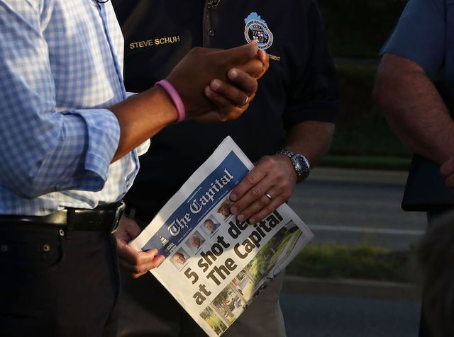 Photos: Nation remembers slain journalists of The Capital Gazette