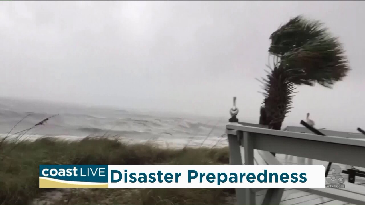 Preparing for hurricanes and natural disasters on CoastLive