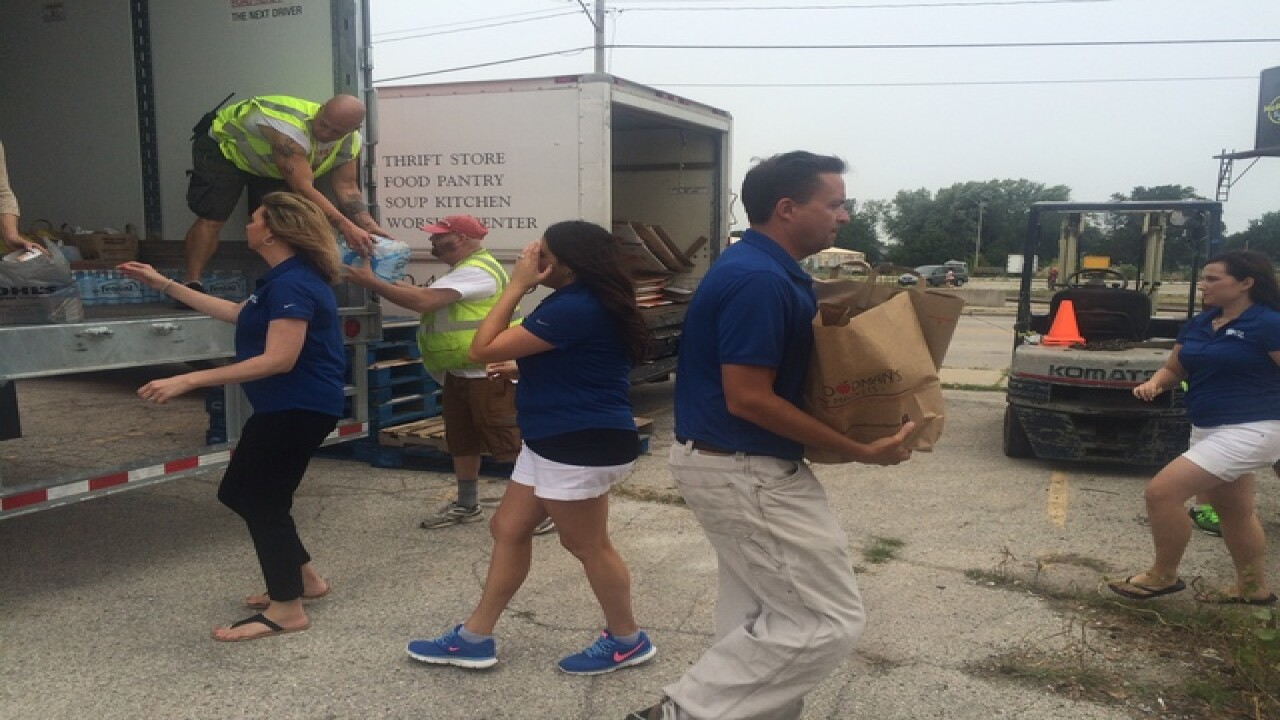 NBC26 Cares Food Drive was a big success