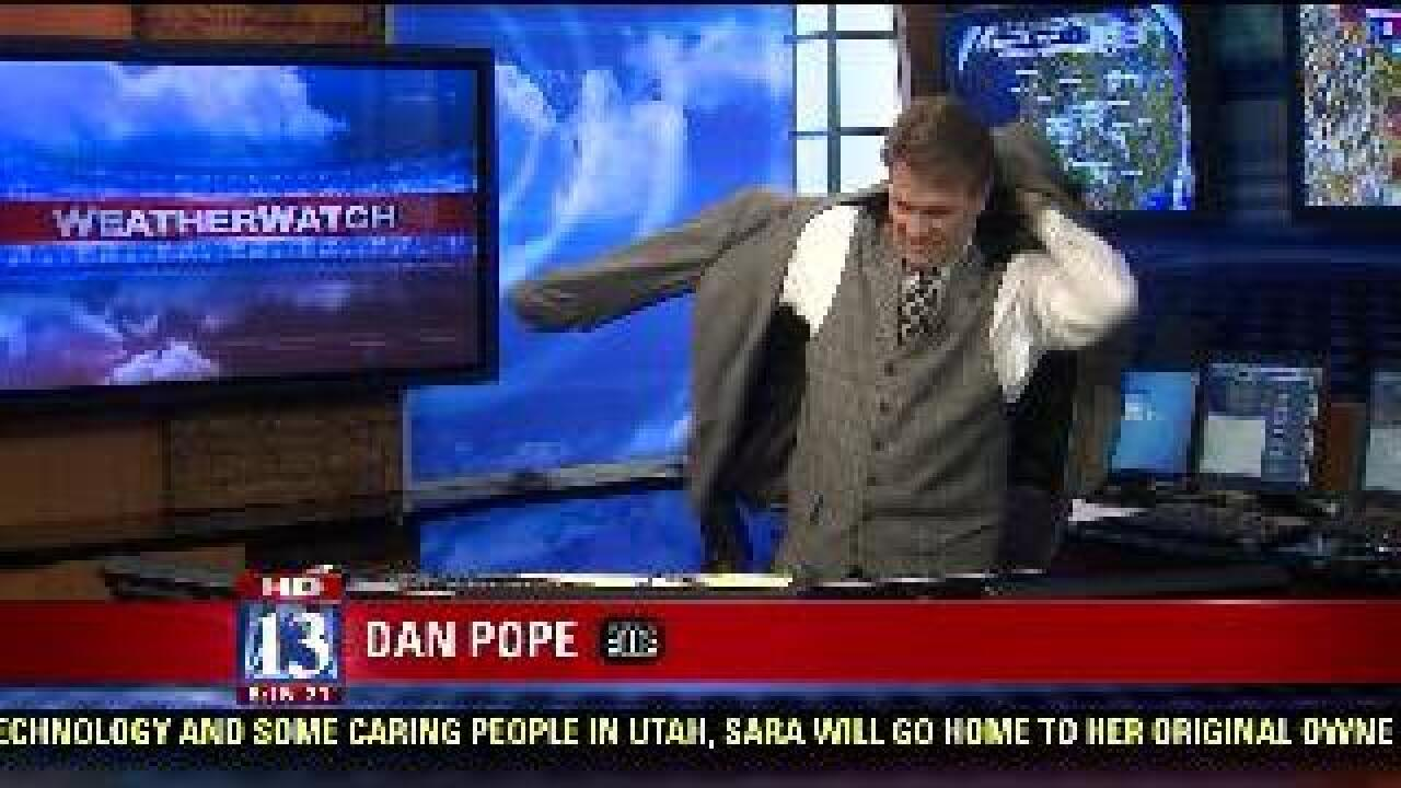 Producer's Pick: Weatherman needs his jacket