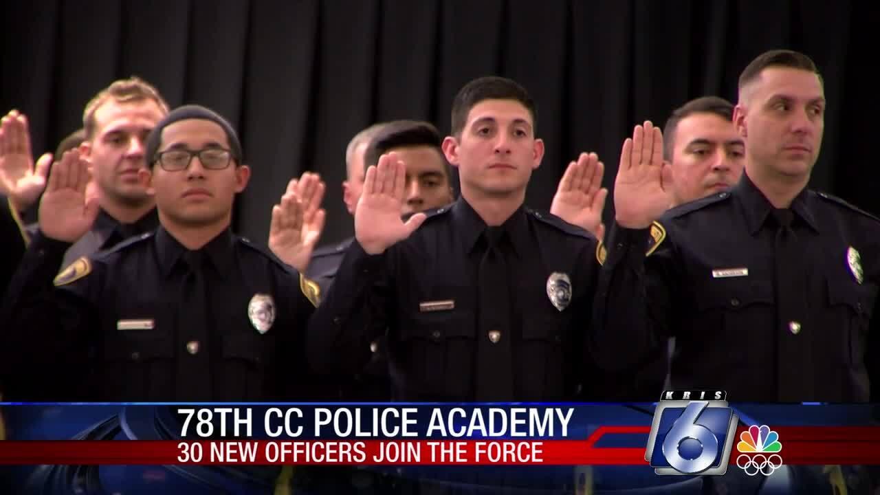 Graduation day at the Corpus Christi Police Academy