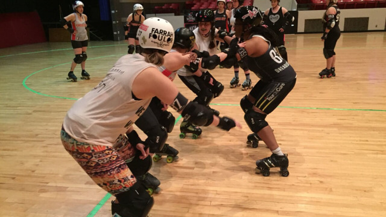KC Roller Warriors skate double header on Sat.