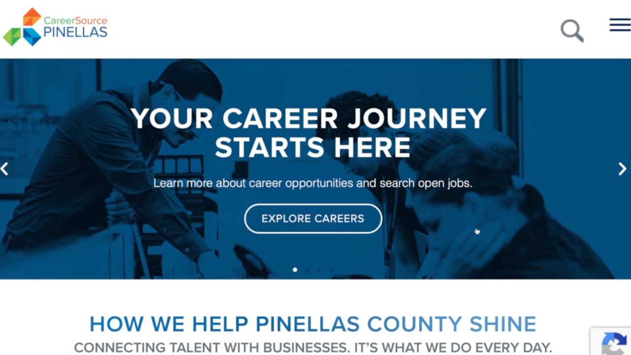 PinellasWorks website.