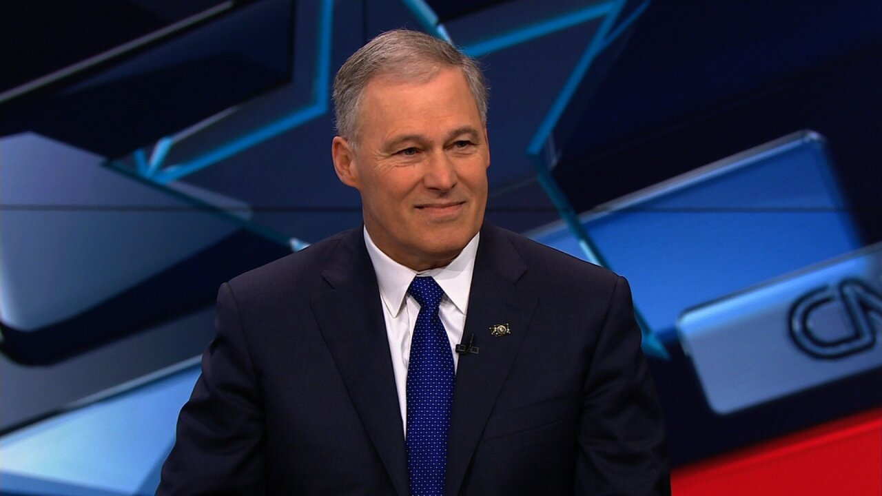 Washington Gov. Jay Inslee announces he's running for president in 2020