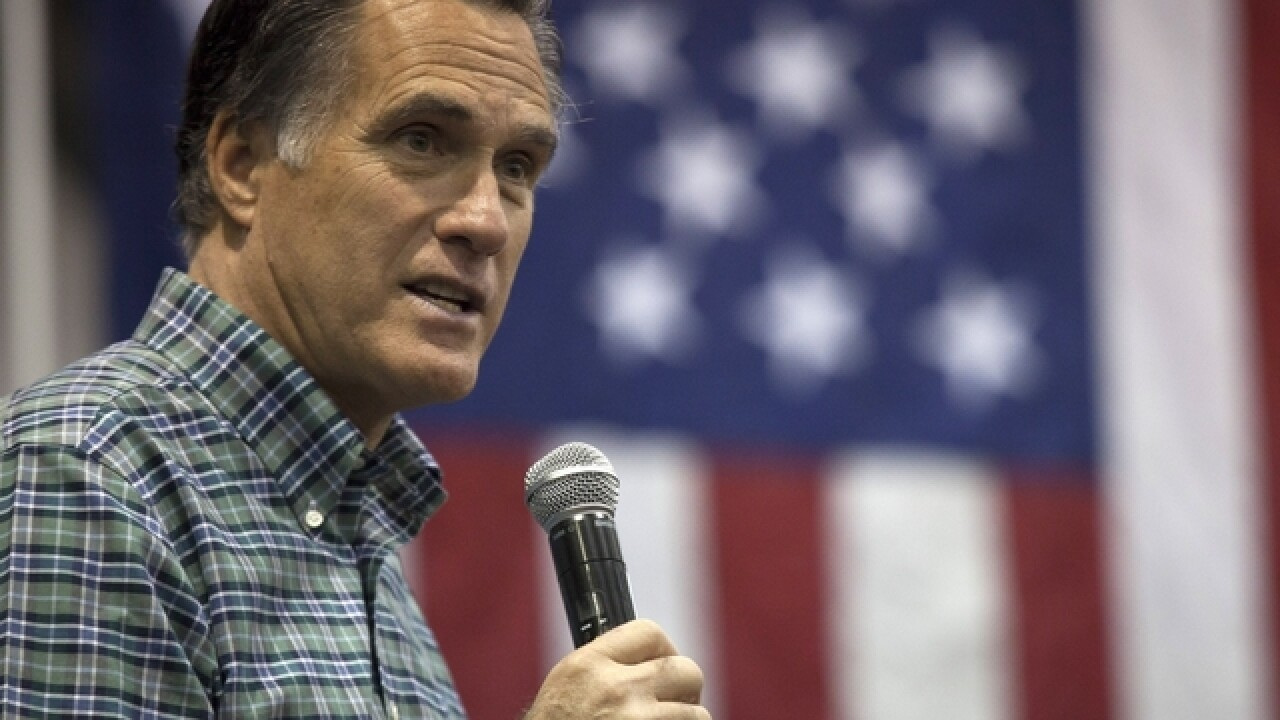 Mitt Romney has harsh words for Hillary Clinton