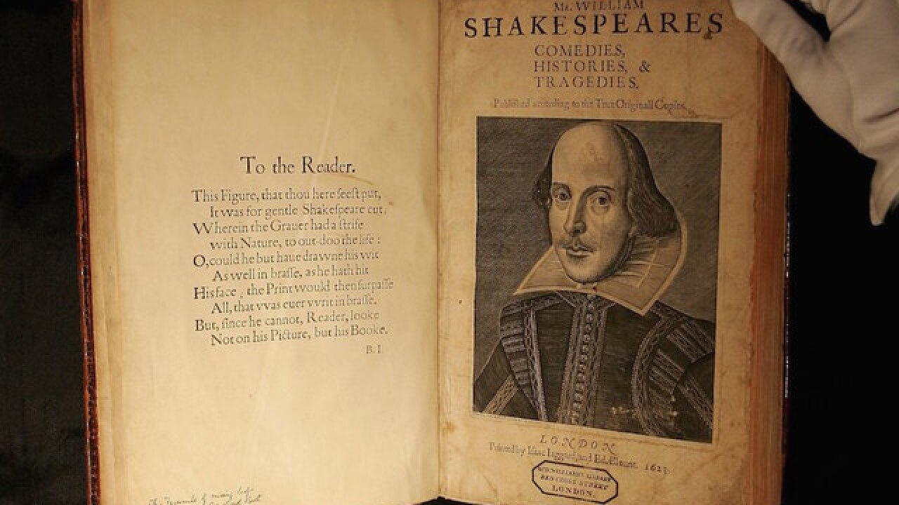 Royalty & Obama remember 400 years since Shakespeare died