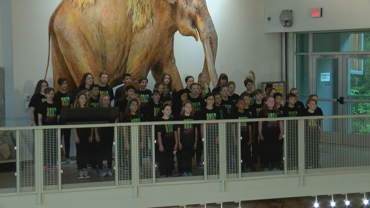 "Youth Chorus of Central Texas performs ""Children's Earth Anthem"""
