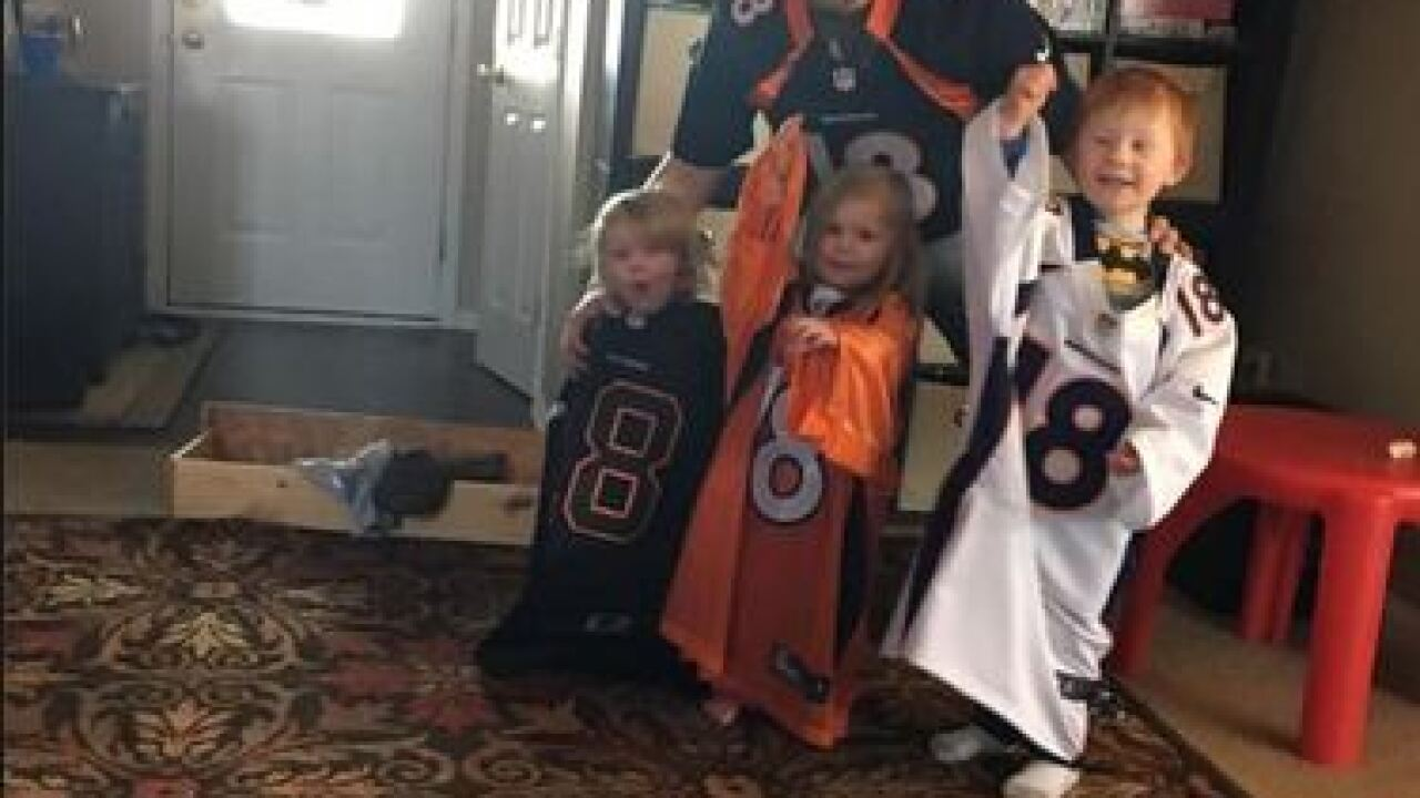 Show us your #PeytonPride