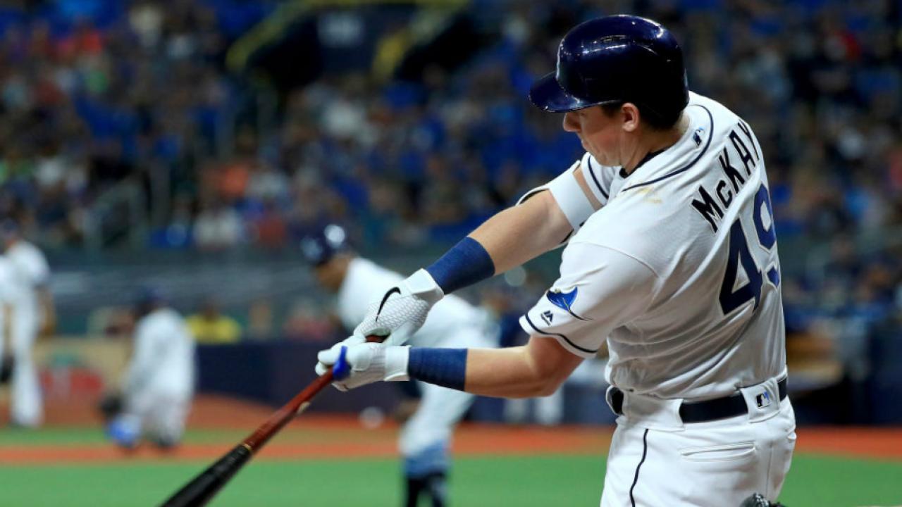 Brendan McKay batting July 1 2019