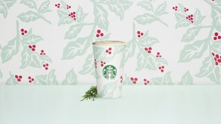 Starbucks debuts Juniper Latte, more holiday merchandise on Tuesday