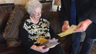 Making A Difference: Richmond Care Facility Holds Birthday For 105-Year-Old Resident