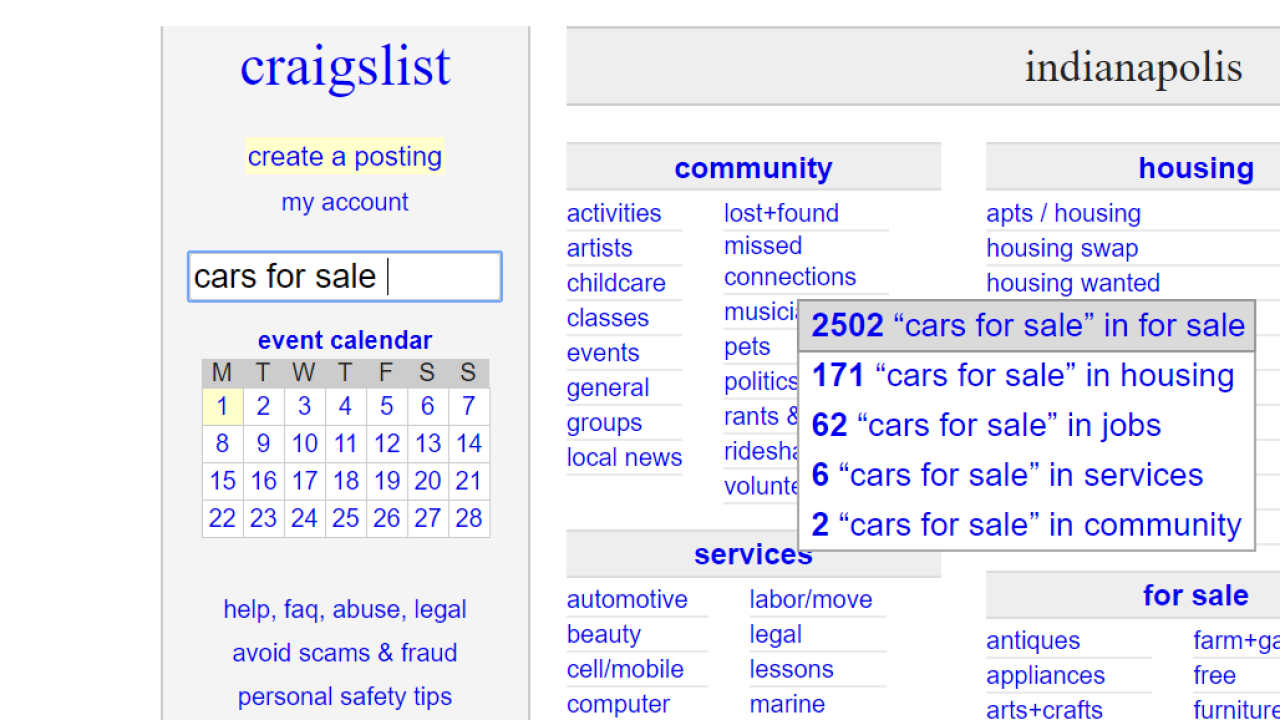 State issues warning about Craigslist car sales involving dealers