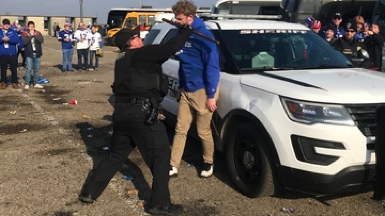 UB student's pending lawsuit of bloody arrest