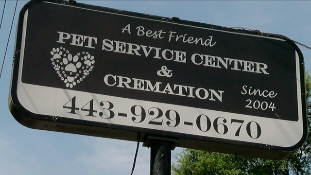 Pet cremation concerns