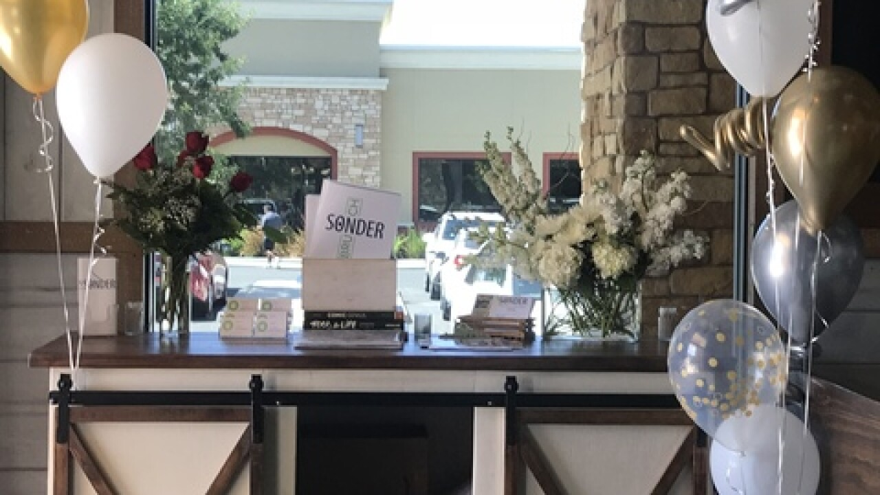 Sonder celebrating 1 year anniversary
