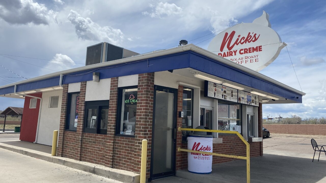 Nick's Dairy Creme first began operating in the 1960s