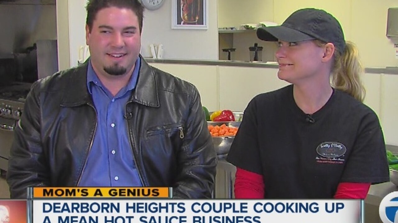 Mom's a Genius: Local couple cooks up mean hot sauce business