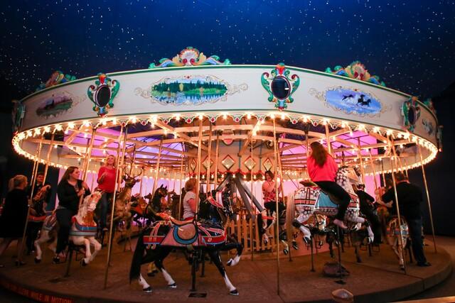 PHOTOS: Children's Museum Carousel through the years