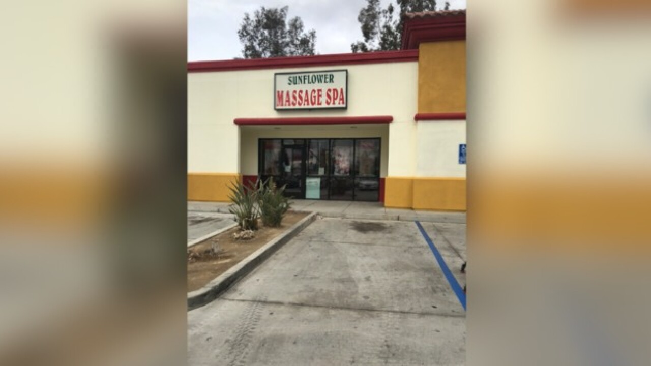 Undercover operation closes massage parlors