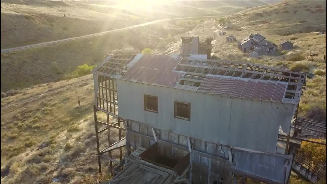 Smith Mine drone shot