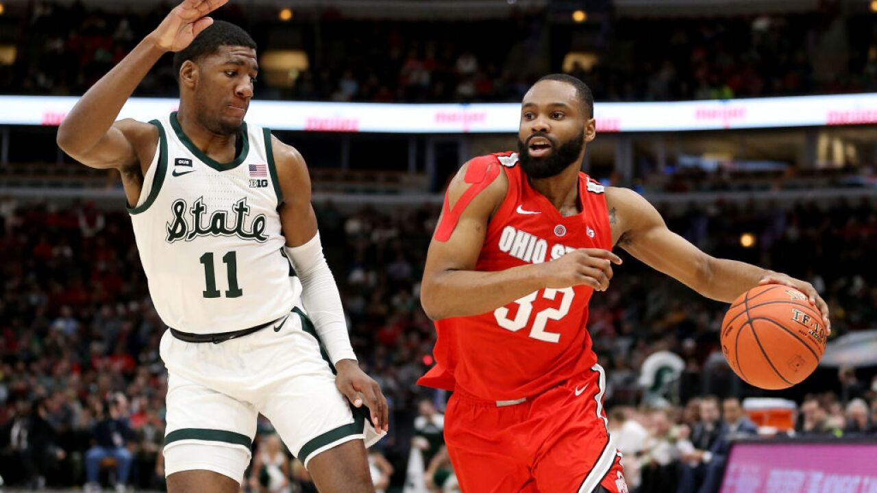 Cleveland Basketball Team >> Buckeyes Basketball Team Will Play A Game In Cleveland Next