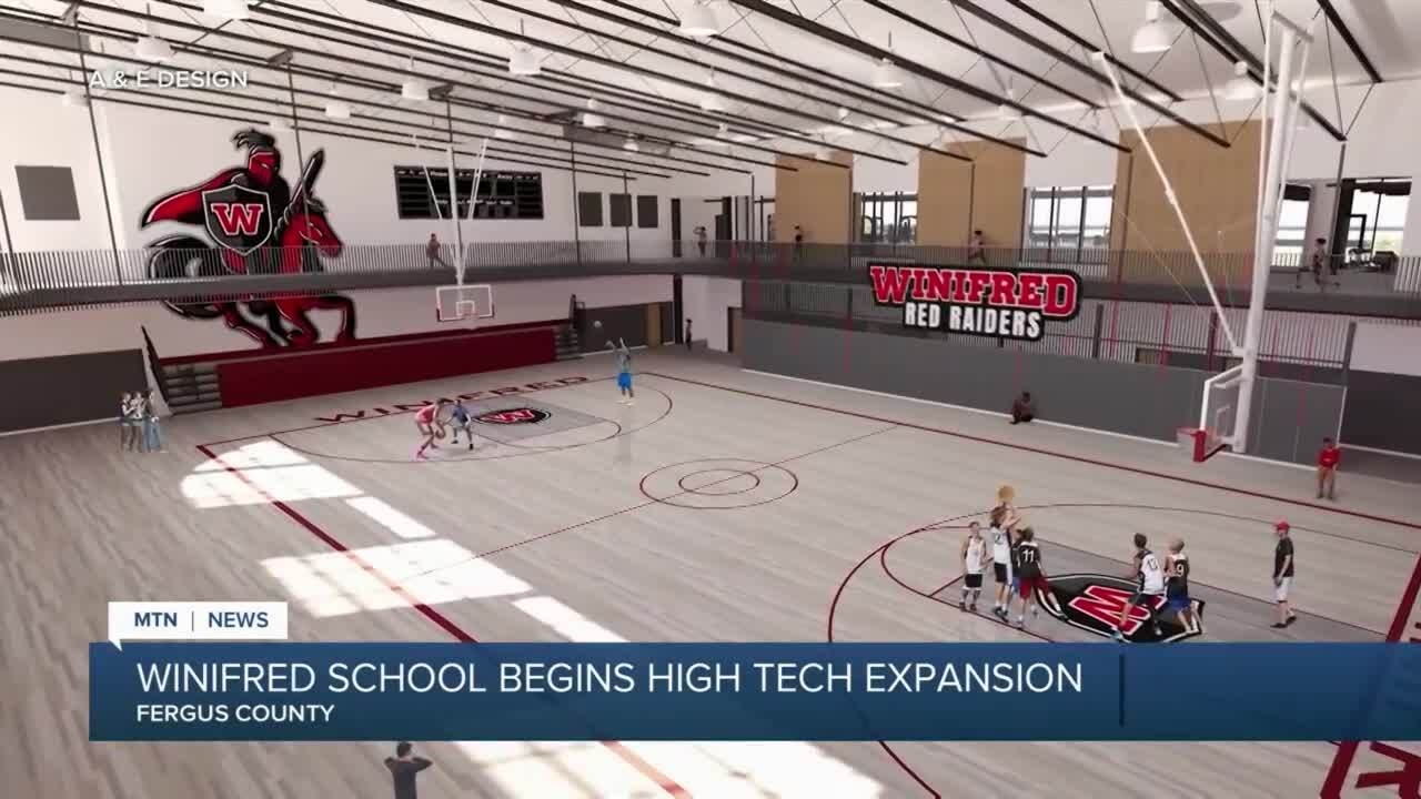 Winifred school is getting a high-tech upgrade