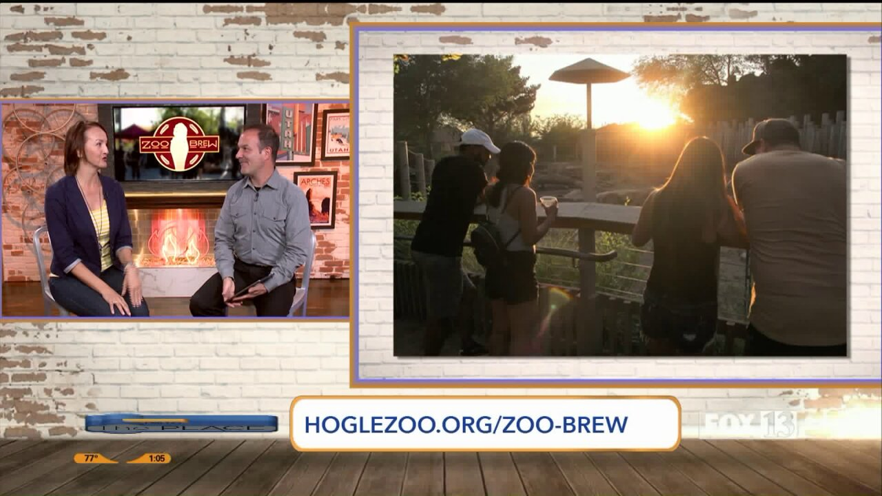 How to enjoy Utah's Hogle Zoo with a beerin-hand!