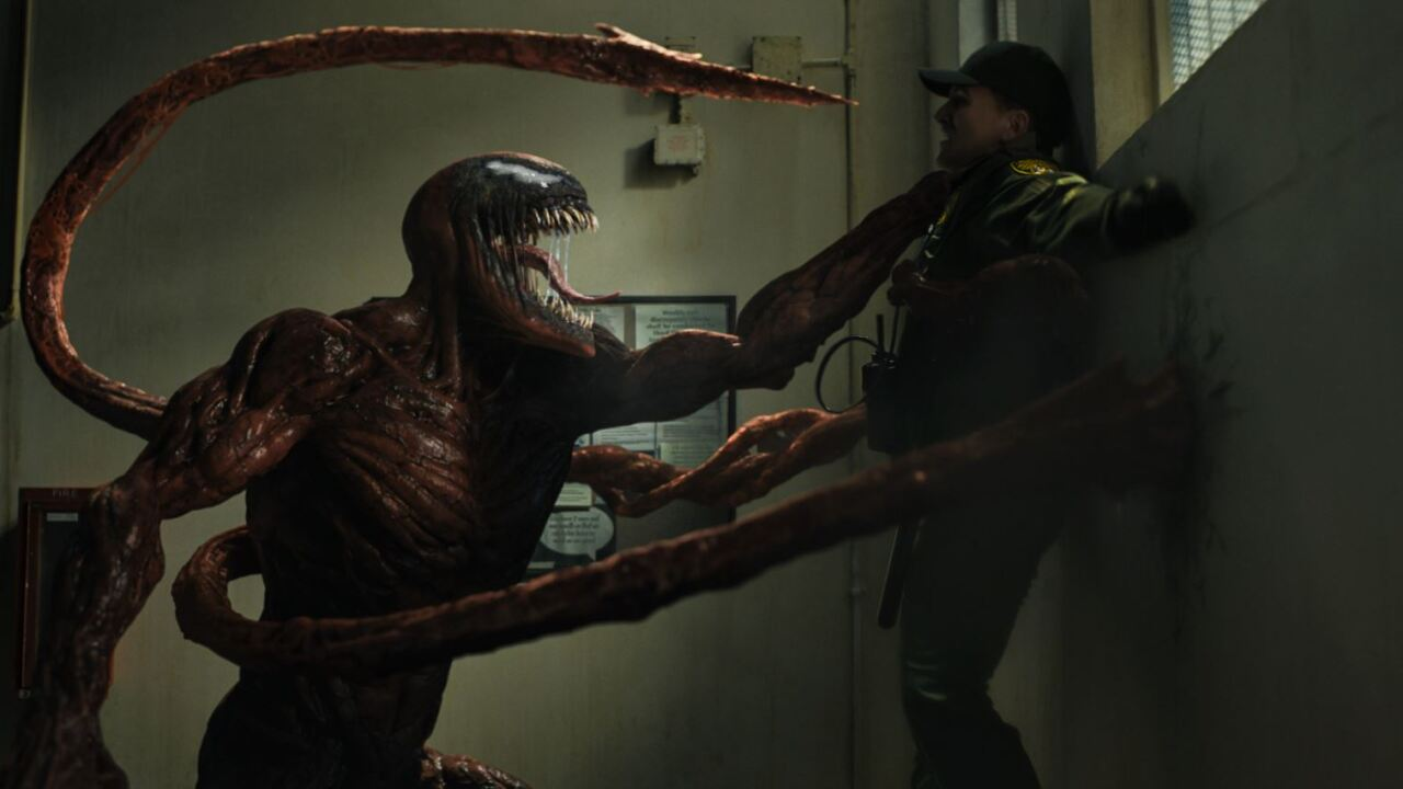 """""""Venom: Let There Be Carnage"""" opens Oct. 1. Photo courtesy Sony Pictures."""
