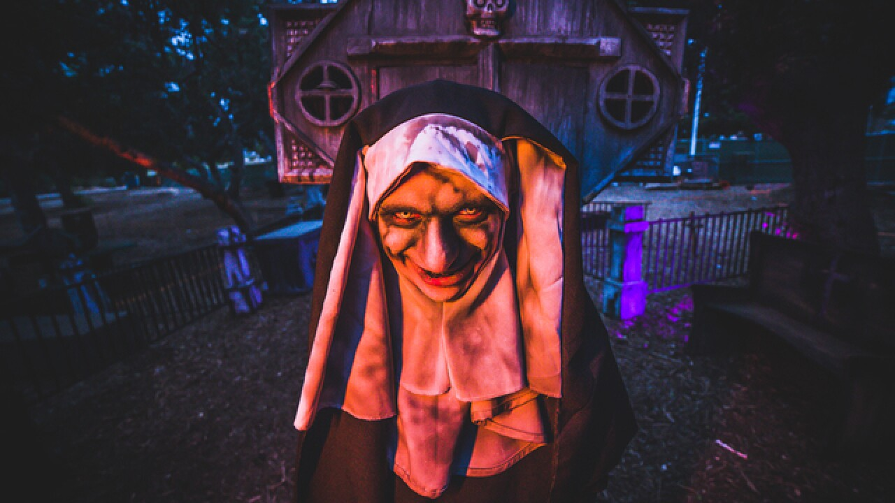 The Haunted Trail sets terror loose in Balboa Park