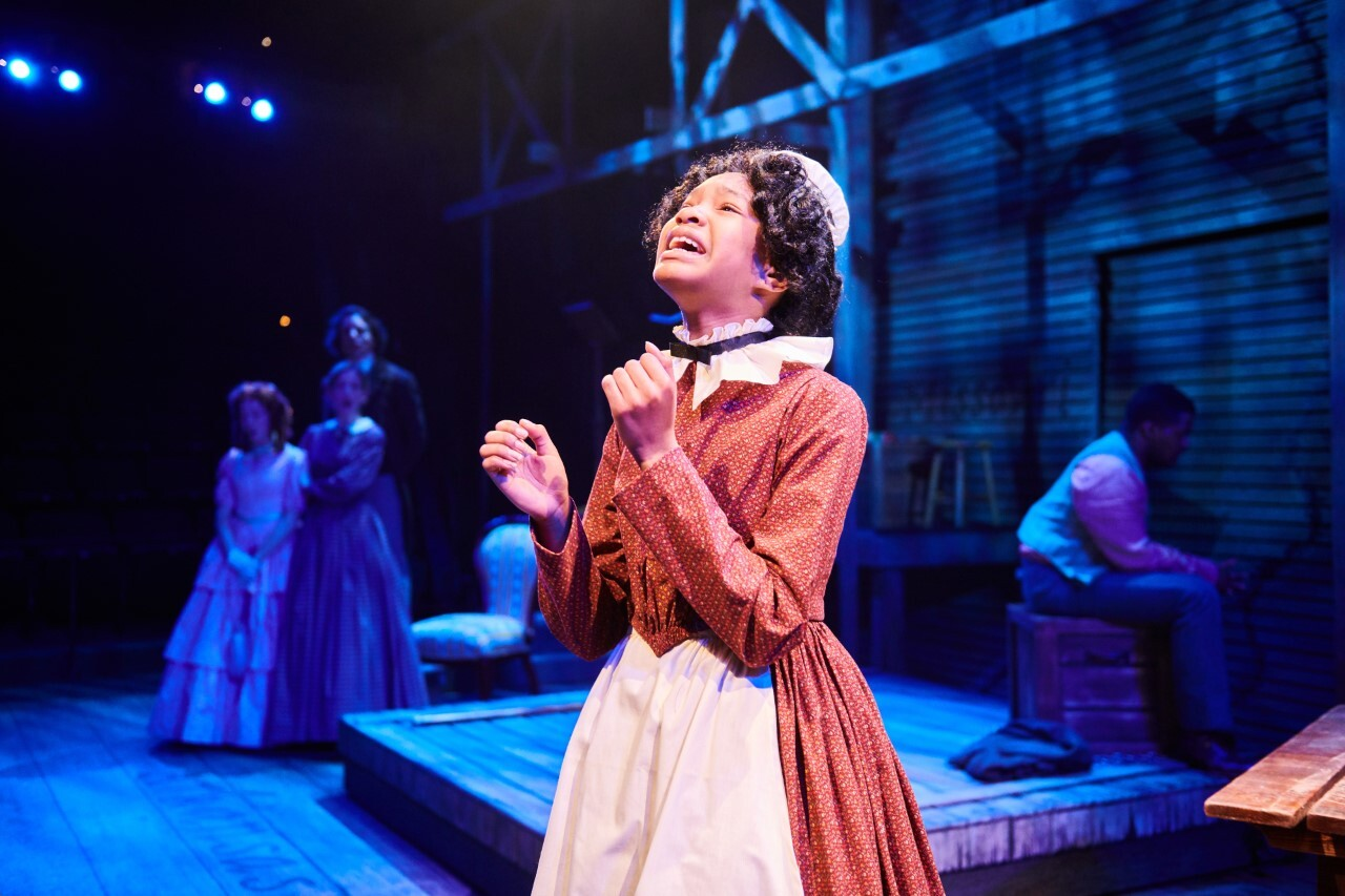 Performace of 'Big River' at First Stage theater