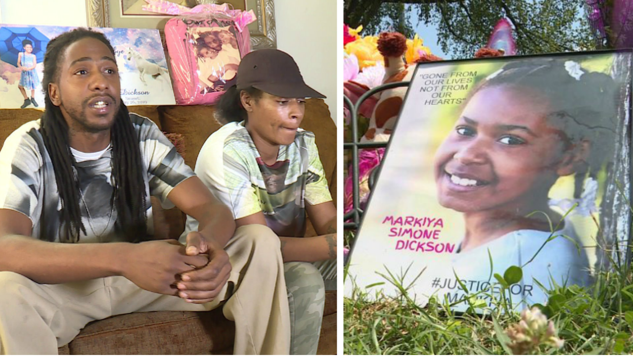 Markiya Dickson parents recall seeing suspects on day of shooting: 'They walked right pastme'