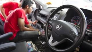 Malaysia Honda airbag