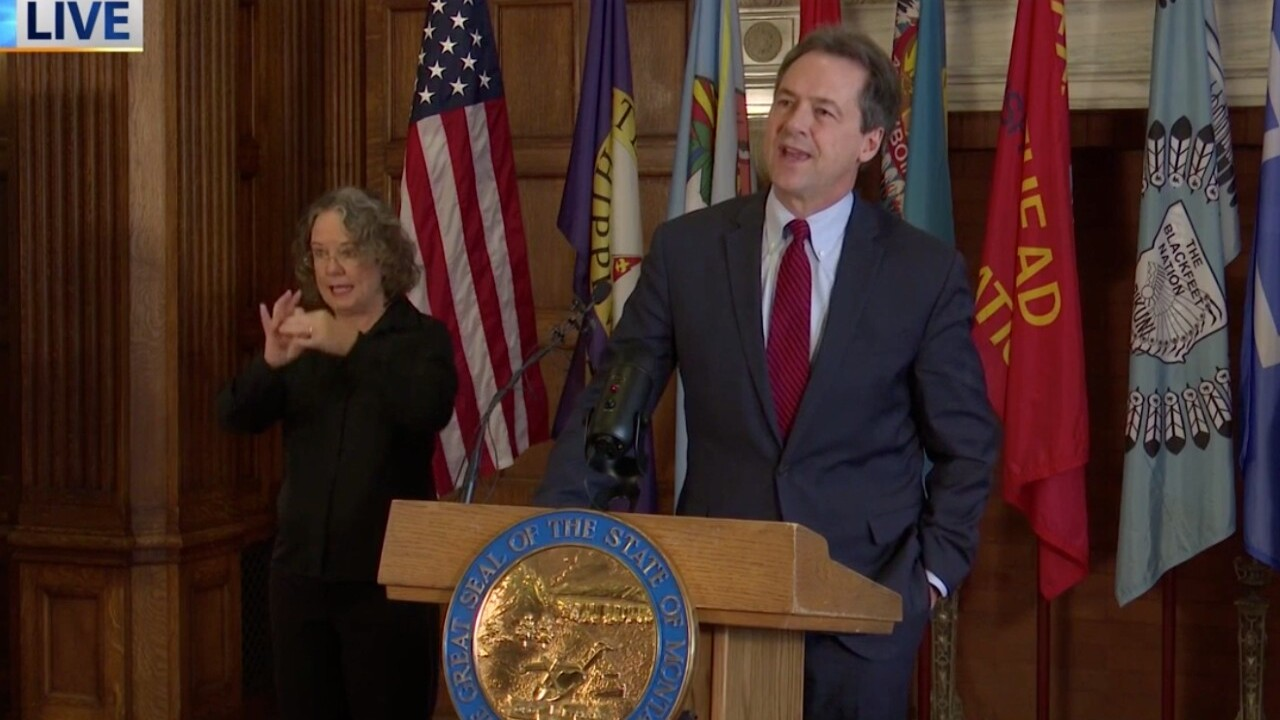 LIVE: Gov. Bullock provides Montana COVID-19 update - April 14