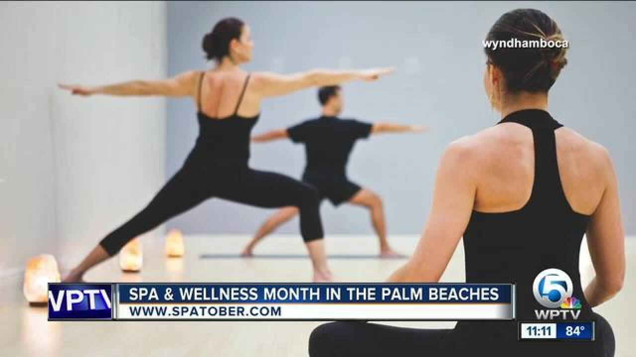 Spa and Wellness Month in the Palm Beaches