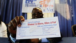 Veterans often accept jobs that are below their skills, data shows