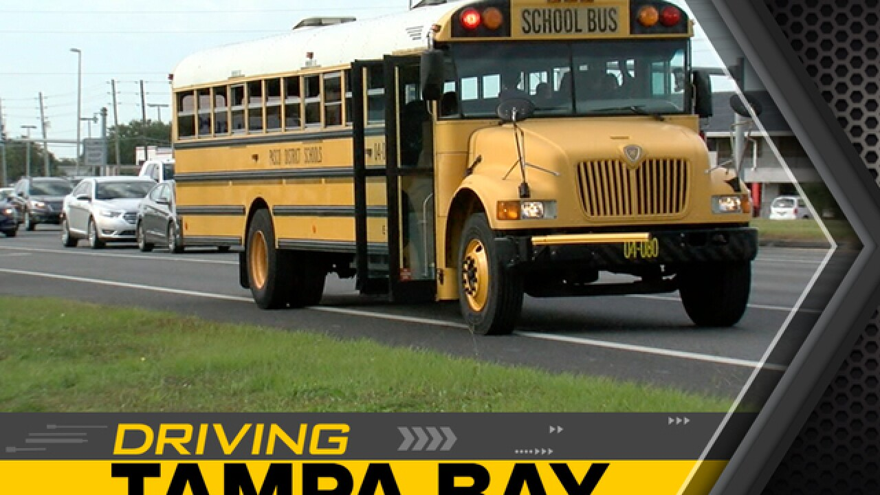 Video catches Florida drivers not stopping for buses