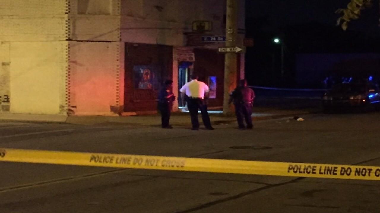 PD investigating homicide outside liquor store