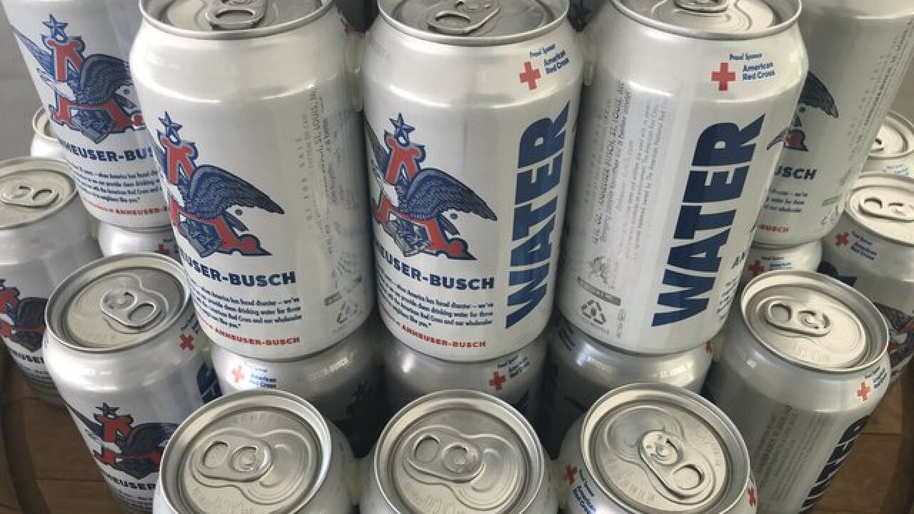 Anheuser-Busch adds Fort Collins brewery to emergency canned water program