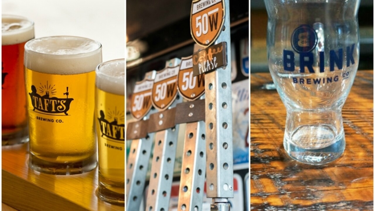 These Cincinnati breweries won gold at Great American Beer Festival