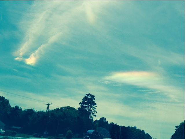 Photos: 'Awesome rainbow clouds' appear in the sky overVirginia