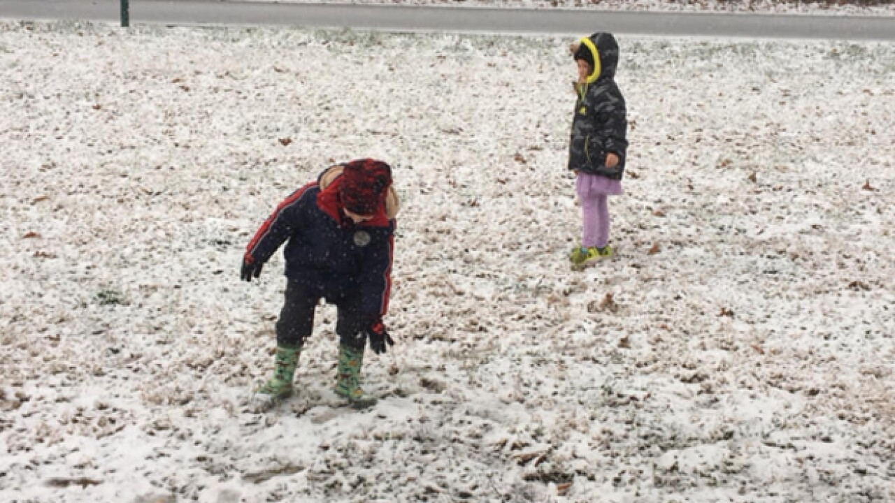 Snow flurries spotted in Southern Kentucky