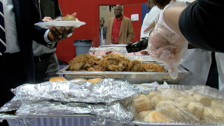Fairfield thanksgiving feast for families
