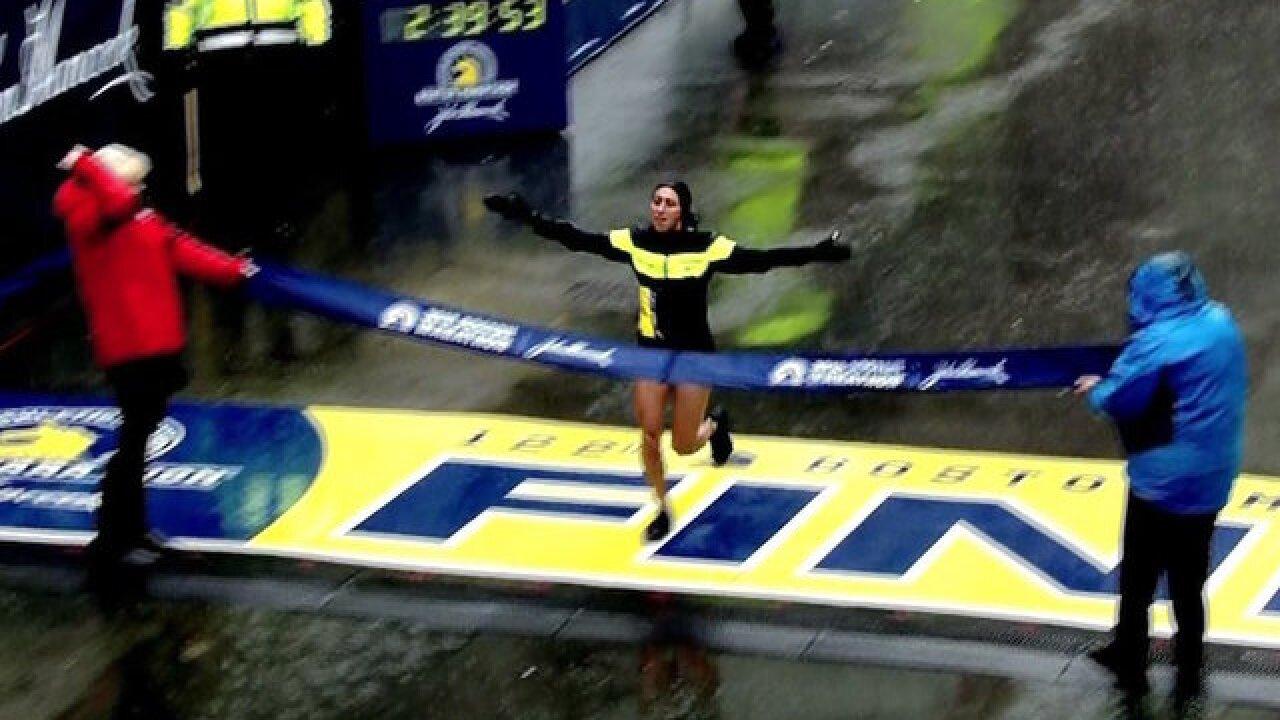 Linden of the US wins Boston Marathon