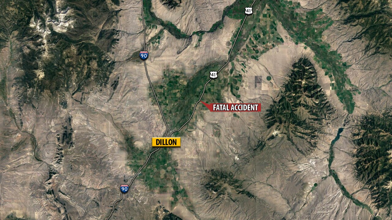 Dillon man dies in single-vehicle rollover crash in Beaverhead County