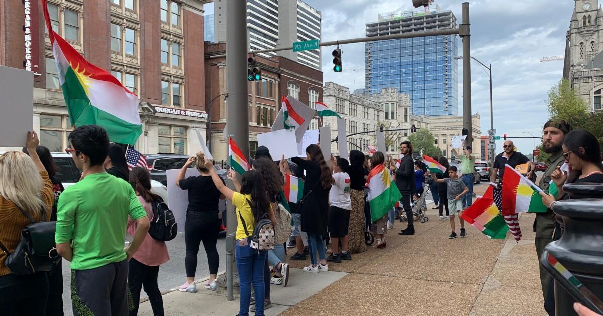 Kurdish Peace Rally held in downtown Nashville