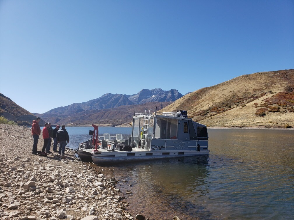 Photos: Fisherman's car goes for a swim in Deer CreekReservoir