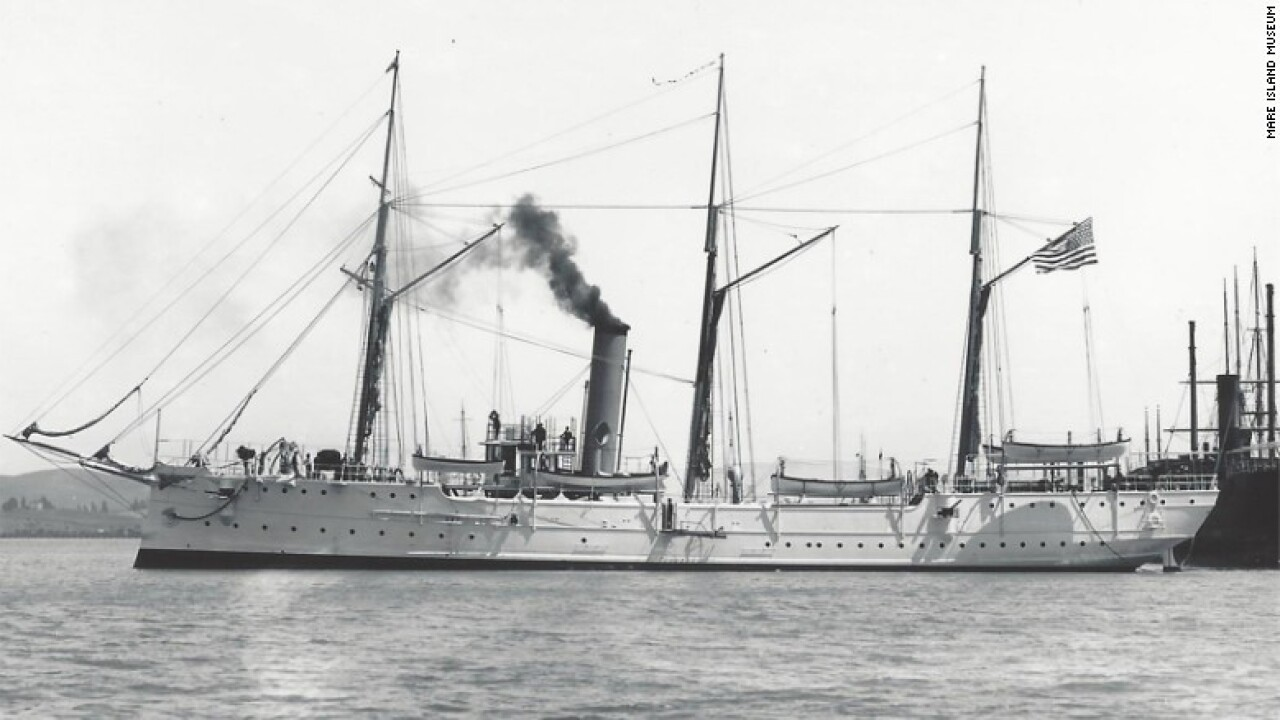 Coast Guard ship found after 100 years in US Pacific coast