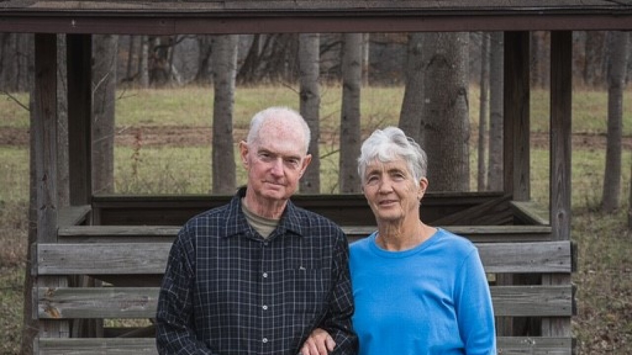 Georgia and Greg Flinn were married for 44 years when Greg died of tuberculosis. Court records allege he received a defective bone repair product.