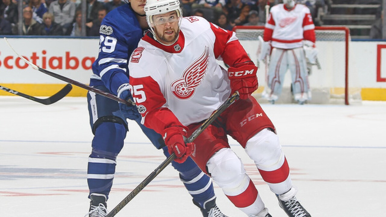 Red Wings agree to two-year deal with Mike Green