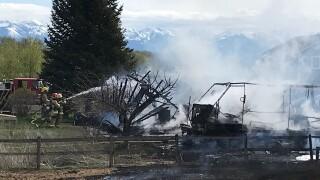 Kalispell Fire May 11
